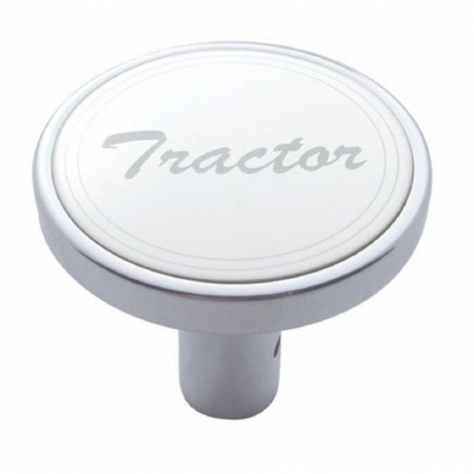 Chrome Tractor Long Pin Air Valve Knob