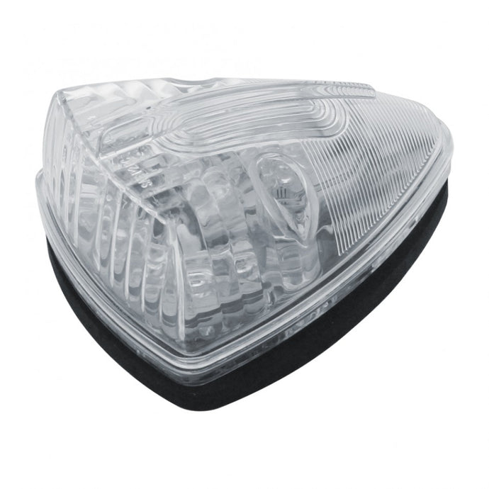 13 LED Pick-up/SUV Cab Light- Amber LED/Clear Lens