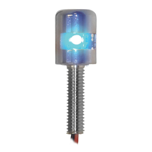 Side Type Screw LED Light- Blue