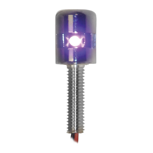 Side Type Screw LED Light- Purple