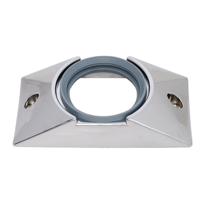 Mounting Bracket with Grommet for 2-1/2'' Round Light- Chrome