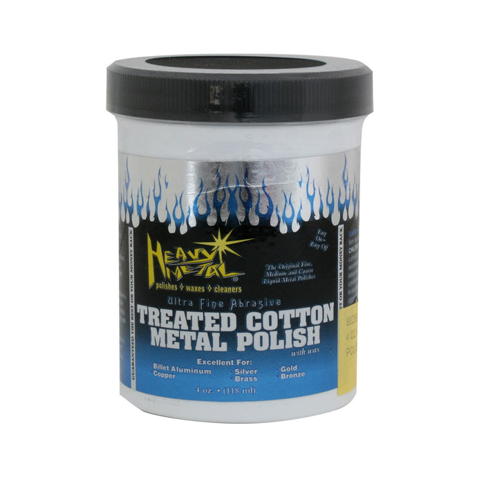 Treated Cotton Metal Polish-Blue/White