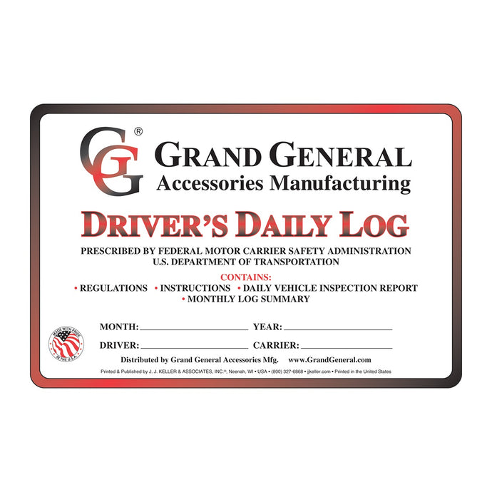 DRIVER'S DAILY LOGS WITH SIMPLIFIED DVIR