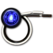 LED Auxiliary Bullet Lights- BLUE