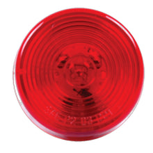 "2"" Round Red LED Clearance/Marker Single Diode Light"