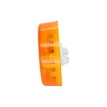 Sealed 2.5'' Round LED Clearance/ Side Marker Light- Amber