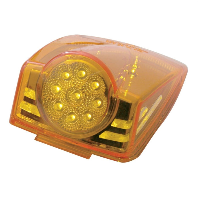 19 LED Reflector Cab Light - Amber LED/Amber Lens