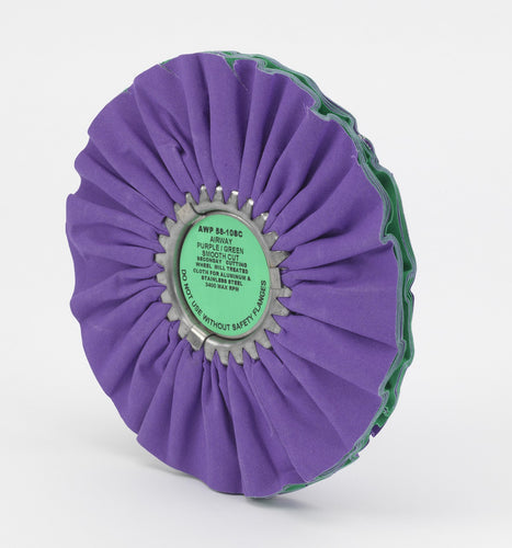 Purple/Green Smooth Cut Airway- 10''
