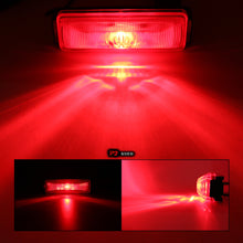 "1""x4"" Red LED Clearance Side Marker Single Diode Light"