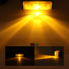 "1""x4"" Amber LED Clearance Side Marker Single Diode Light"