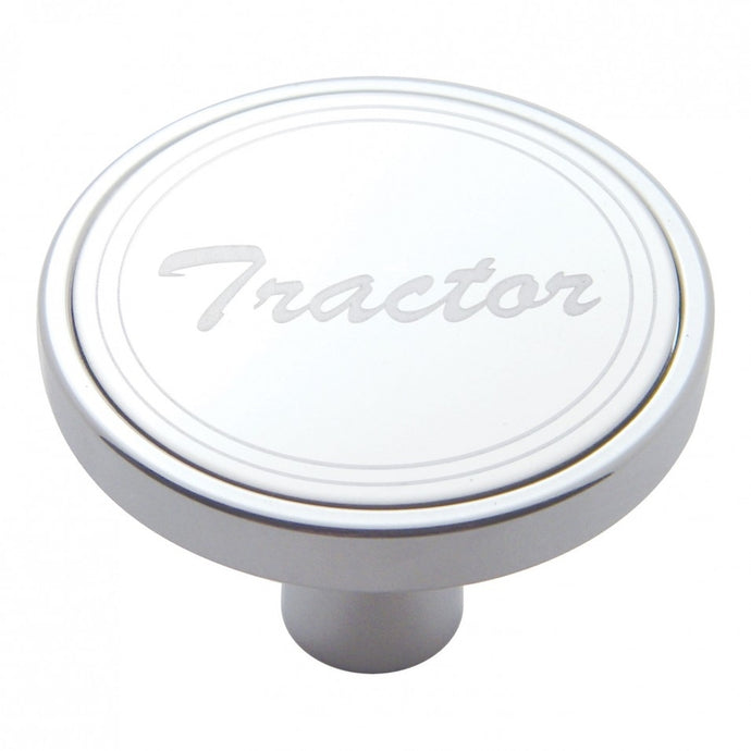 Chrome Tractor Short Pin Air Valve Knob