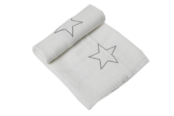 "100% Muslin Cotton Baby Swaddle Blanket, 47""x47"", Various Designs - momma.shop"