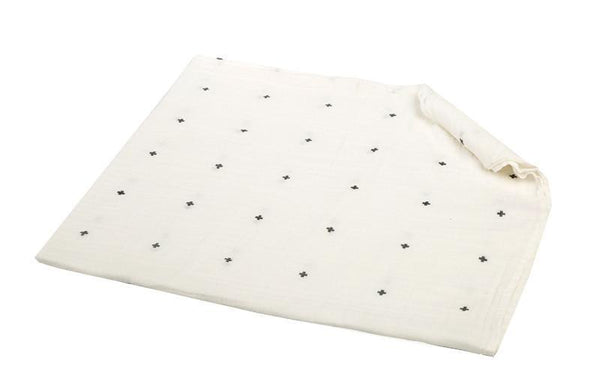 100% Muslin Cotton Baby Swaddle Blanket, 47