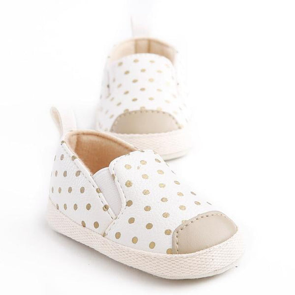 Baby Slip on Polka Dot Shoes, Various Colors - momma.shop