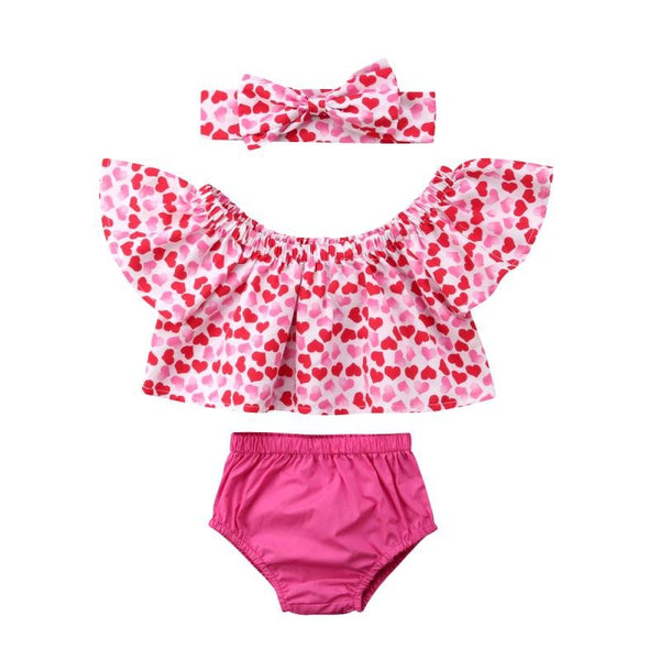 Heart Crop Top and Bloomers - momma.shop