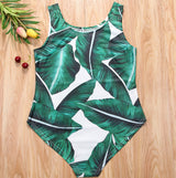 Leaf One Piece Swimsuit