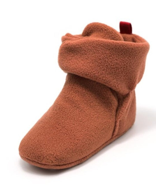 Soft Cozy Booties Crib Shoes, Various Colors