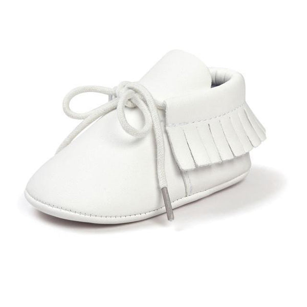 PU Leather Lace Moccasins - momma.shop