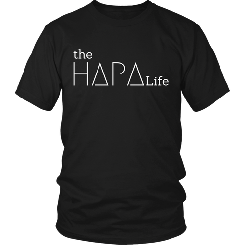 the Hapa Life - T - White Logo