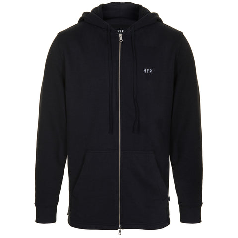 Everyday Zip Hood - Black