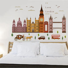 London Architecture Series Wall Stickers