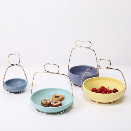 Nordic Resin Snack Trays