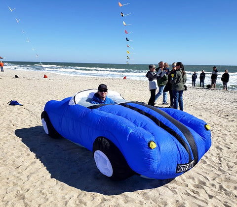 Inflatable Kite Car
