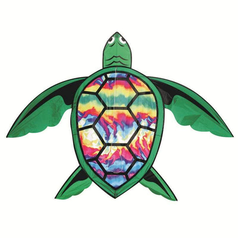 10 Foot Tie Dye Turtle Kite Skydog Kites