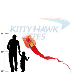 Radiant Sky Parafoil 5 Kite Package
