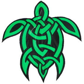 Celtic Knot Turtle Kite