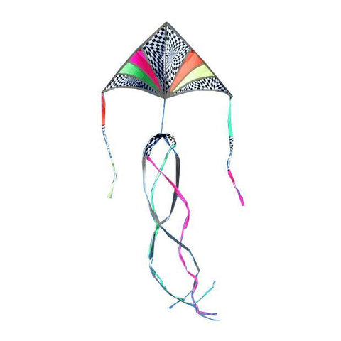 6.5 Foot Festive Sky Delta Kite Package