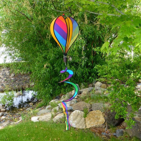 Rainbow Stripe Hot Air Balloon Twister