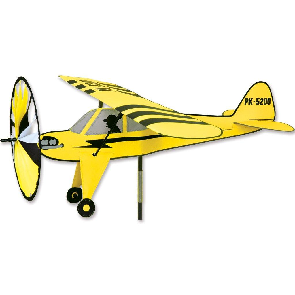 Premier Piper Cub Airplane Wind Spinner