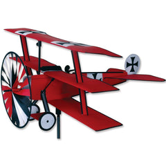 Fokker Tri-Plane Airplane Wind Spinner