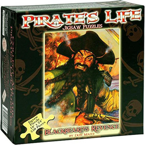 BlackBeard's Revenge Puzzle - 550 Pieces - Kitty Hawk Kites Online Store