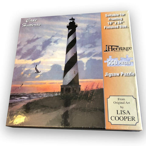Cape Hatteras Lighthouse Puzzle - Kitty Hawk Kites Online Store