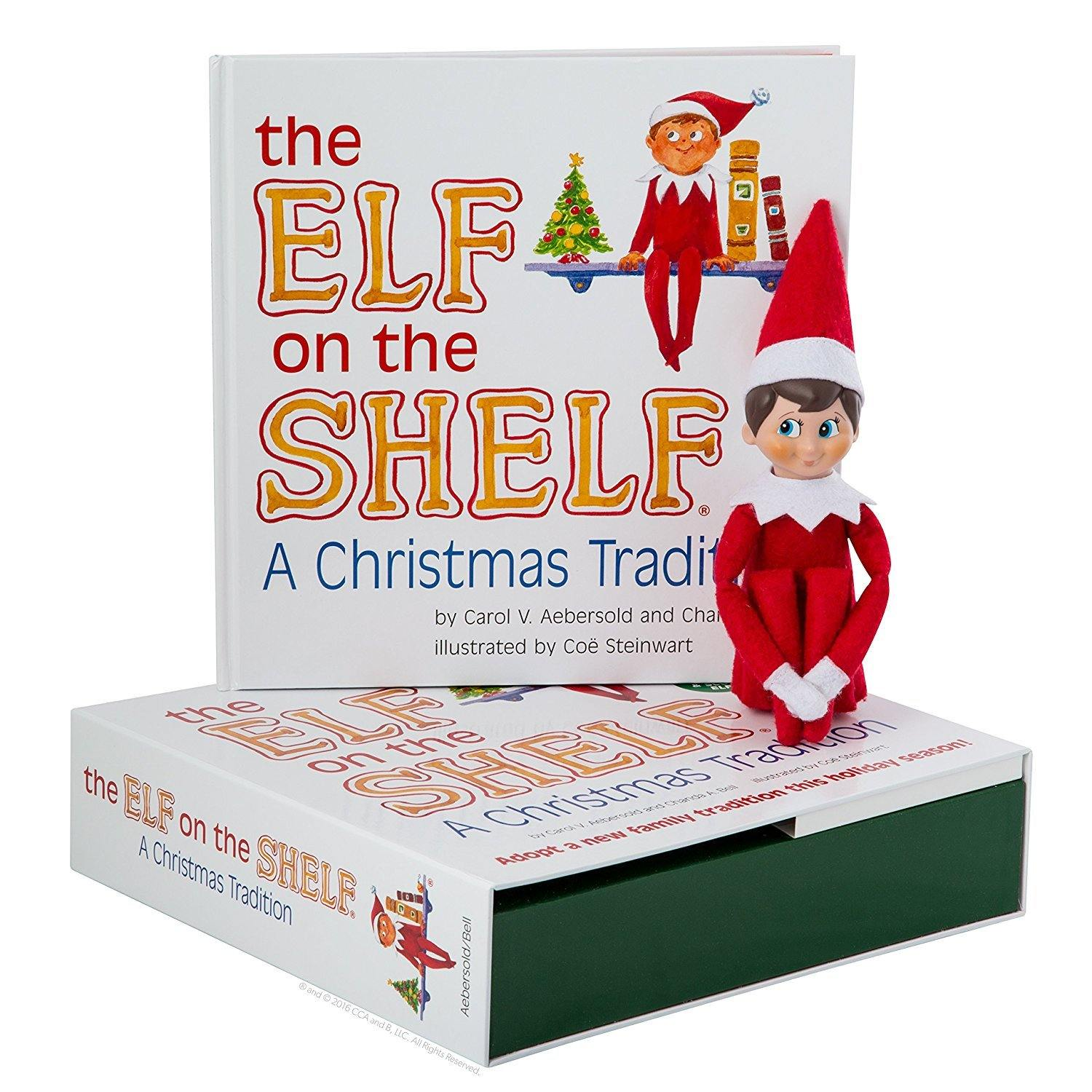 The Elf on the Shelf®: A Christmas Tradition - Boy