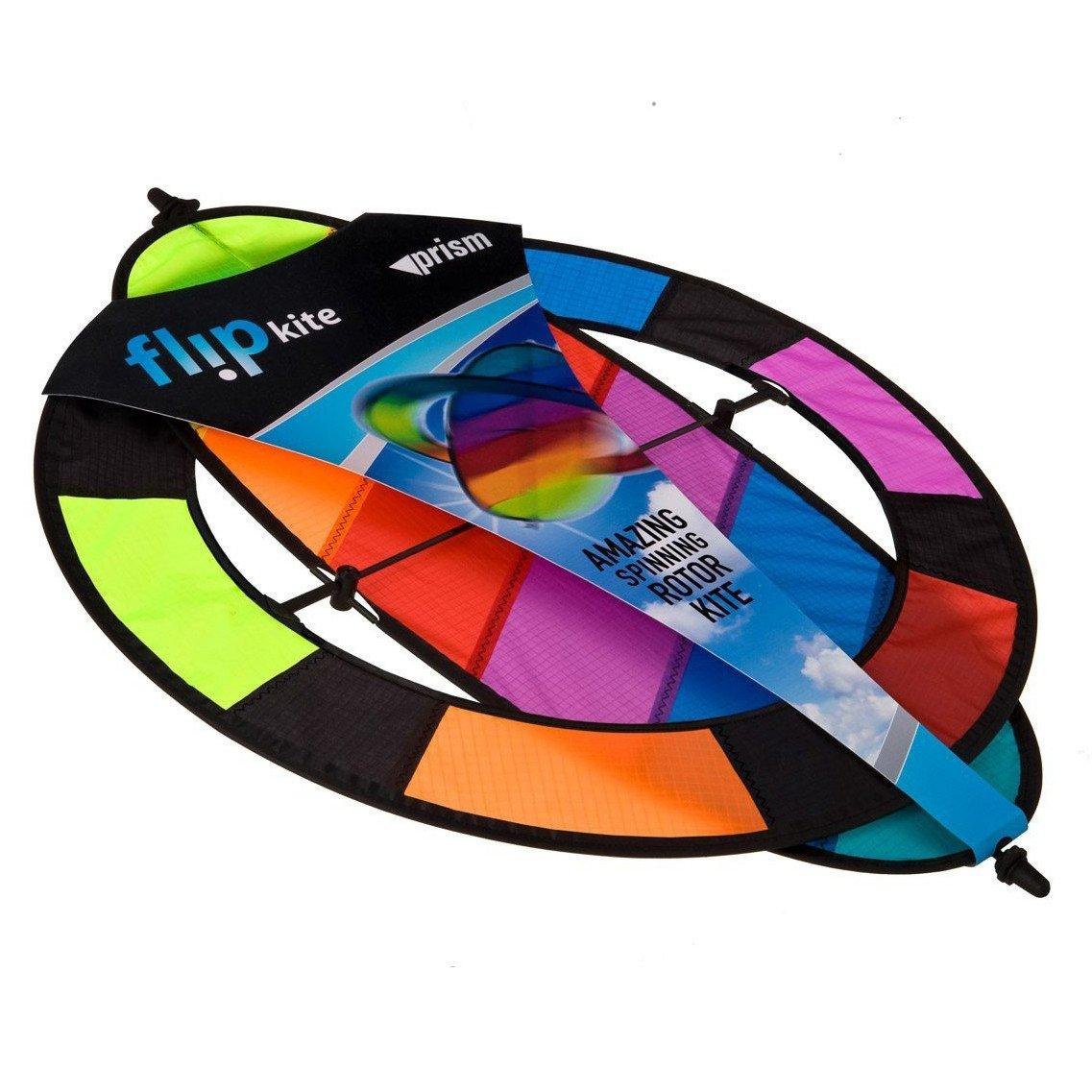 Rainbow Flip Box Kite