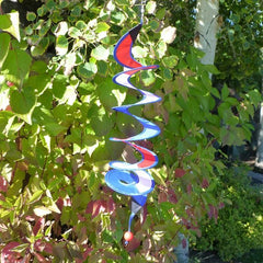 24 Inch Red, White and Blue Curlie Twister - Kitty Hawk Kites Online Store