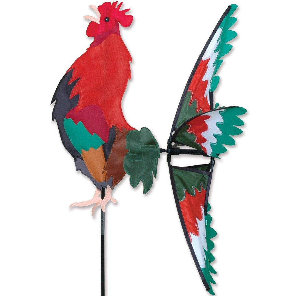 Rooster 26 Inch Wind Spinner