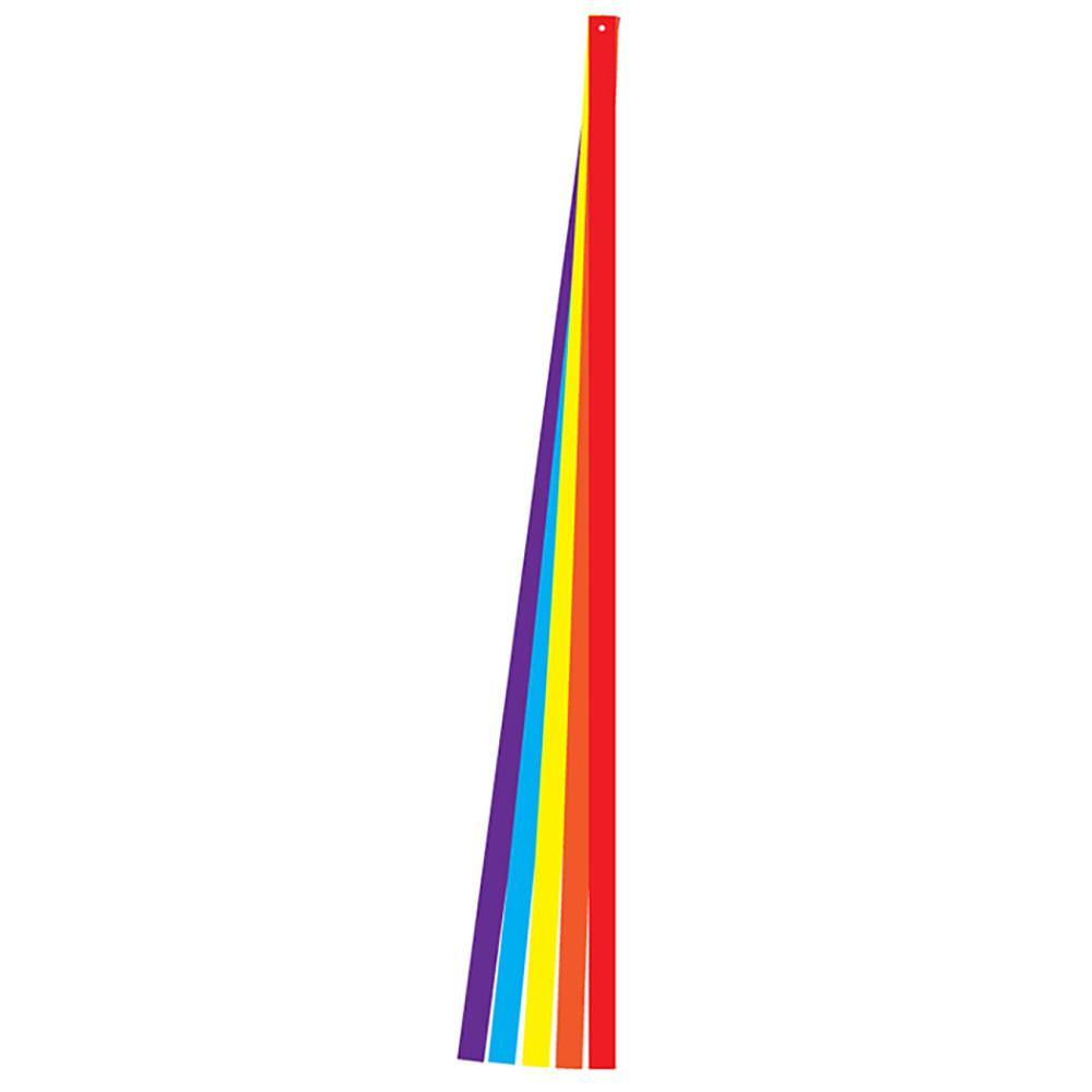 6 Foot Rainbow Kite Tail Set