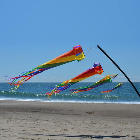Rainbow 48 Inch Spinsock - Kitty Hawk Kites Online Store