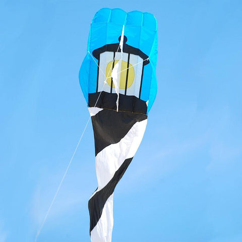 Cape Hatteras Lighthouse Parafoil 5 Flo Tail Kite - Kitty Hawk Kites Online Store