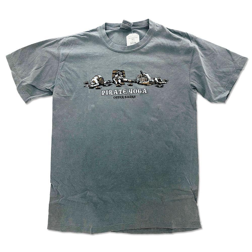 Pirate Yoga Short Sleeve T-Shirt - Kitty Hawk Kites Online Store