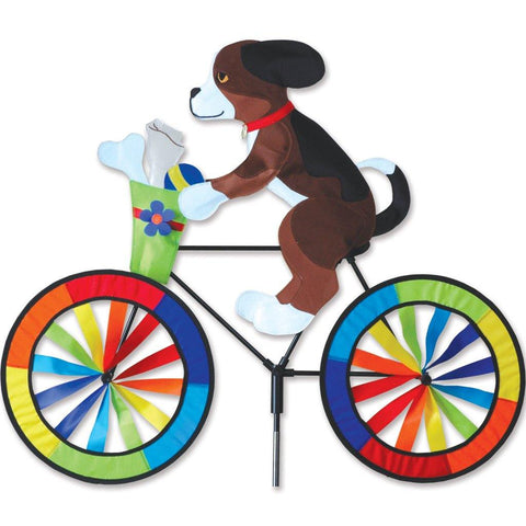 Dog On Bike Wind Spinner - Kitty Hawk Kites Online Store