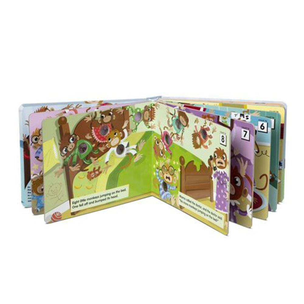 Poke-A-Dot Book: 10 Little Monkeys - Kitty Hawk Kites Online Store