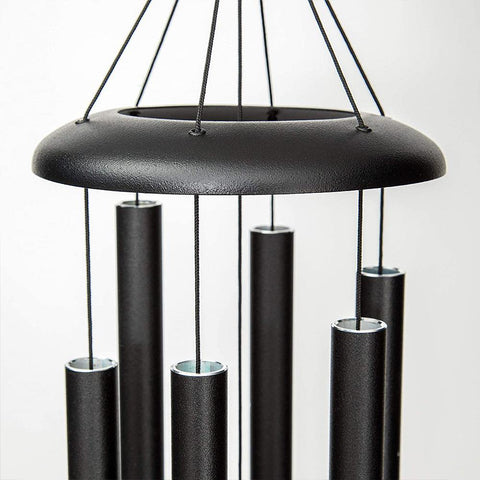 "Corinthian Bells 29"" Black Chime"