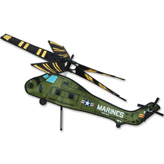 UH-34 Marine Helicopter Wind Spinner