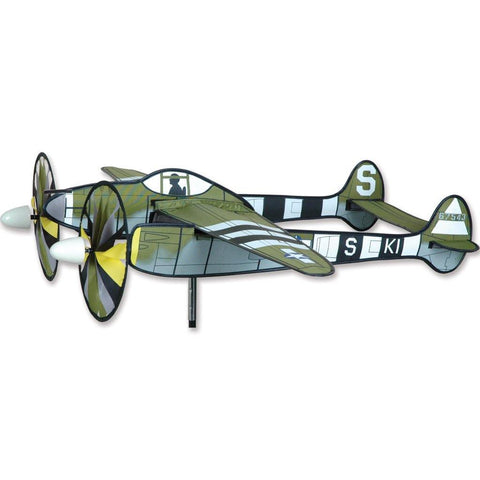 P-38 Lightning Airplane Wind Spinner - Kitty Hawk Kites Online Store