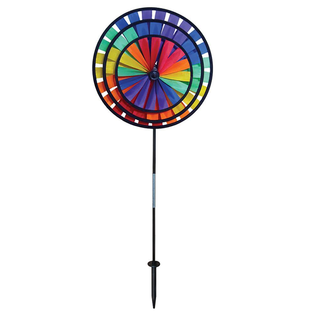Rainbow Triple Wheel Spinner